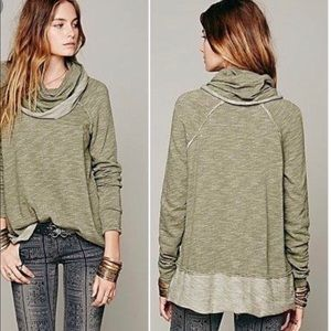 Free people cowl neck pull over